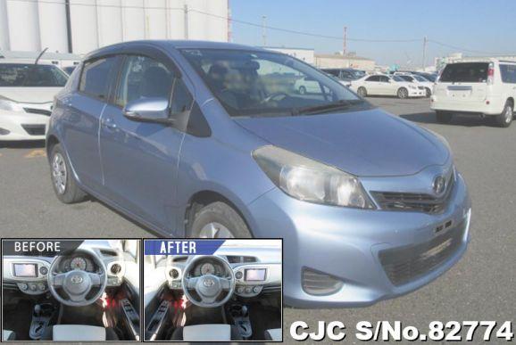 2011 Toyota / Vitz - Yaris Stock No. 82774
