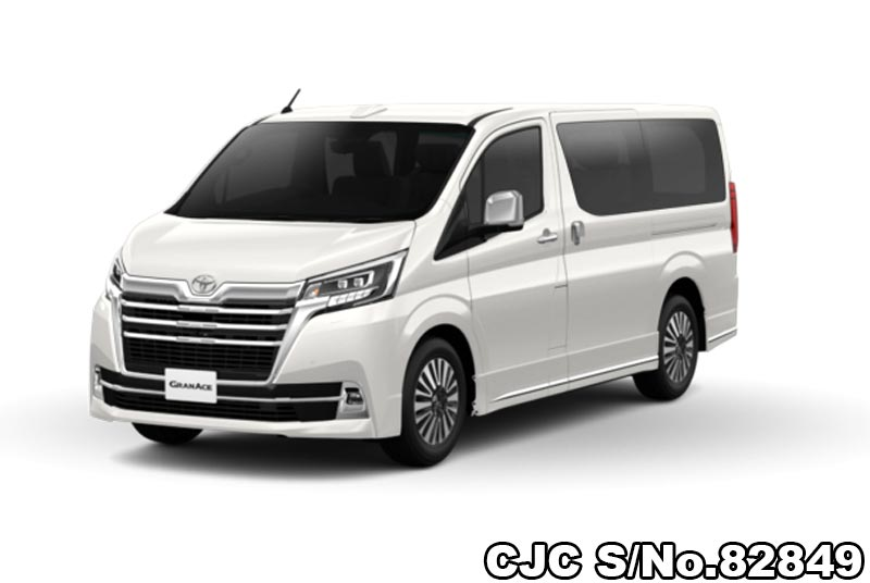 2020 model Toyota GranAce for Diplomats