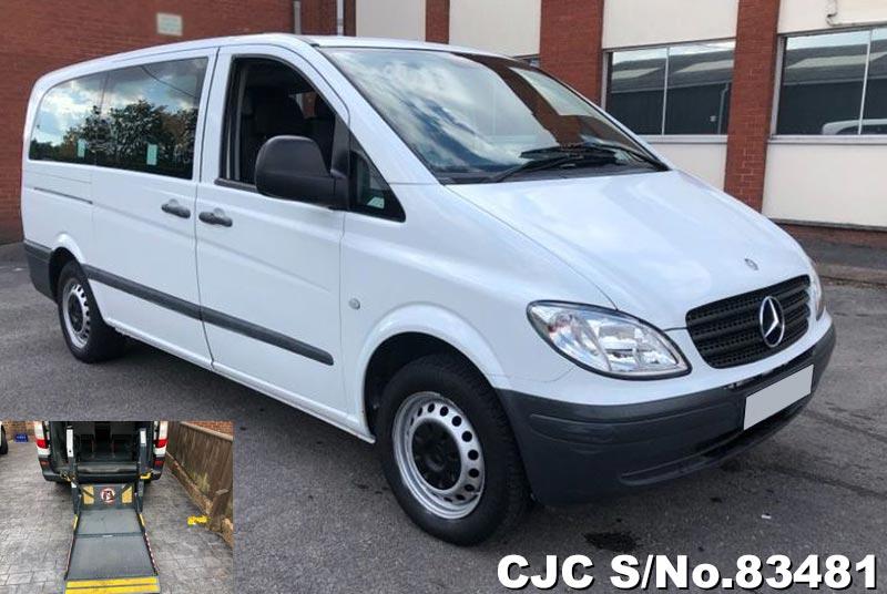2005 Mercedes Benz Vito White for sale | Stock No. 83481 ...