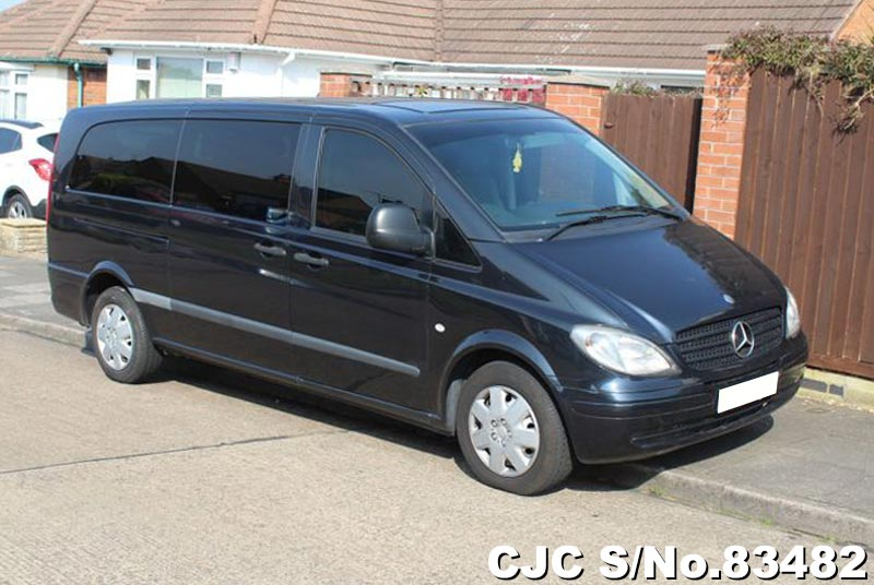 2007 Mercedes Benz Vito Black for sale | Stock No. 83482 | Japanese Used Cars Exporter