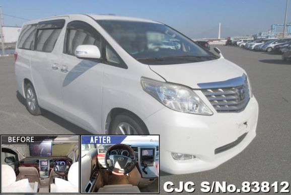 2008 Toyota / Alphard Stock No. 83812