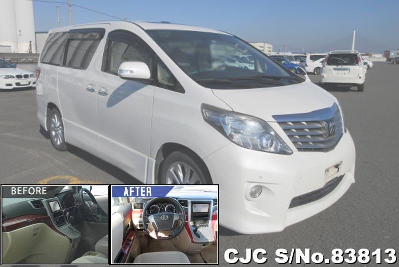 2009 Toyota / Alphard Stock No. 83813