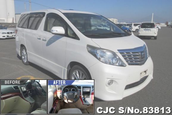 2009 Toyota / Alphard Stock No. 83813
