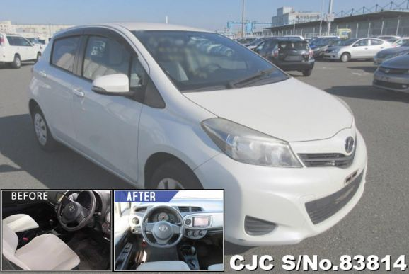 2011 Toyota / Vitz Stock No. 83814