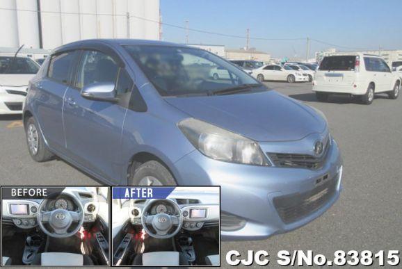 2011 Toyota / Vitz Stock No. 83815