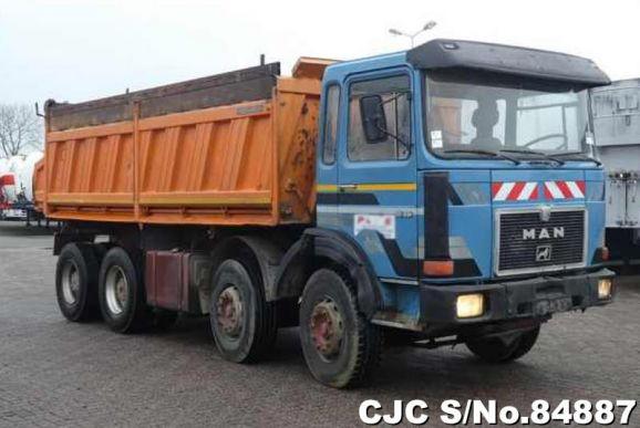1987 Man / 32.331 DFK Tipper Stock No. 84887