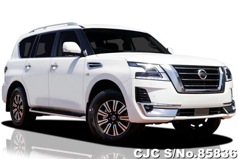 2020 Nissan Patrol White For Sale Stock No 85836 Japanese Used Cars Exporter