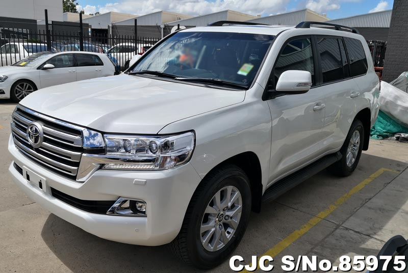 2020 Toyota Land Cruiser White for sale | Stock No. 85975 ...