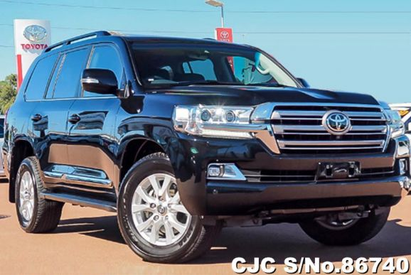 2021 Toyota / Land Cruiser Stock No. 86740