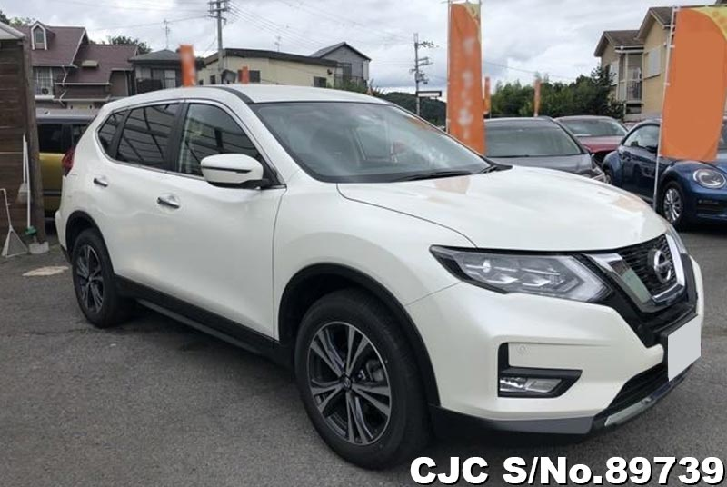 White Nissan X-Trail for Diplomats