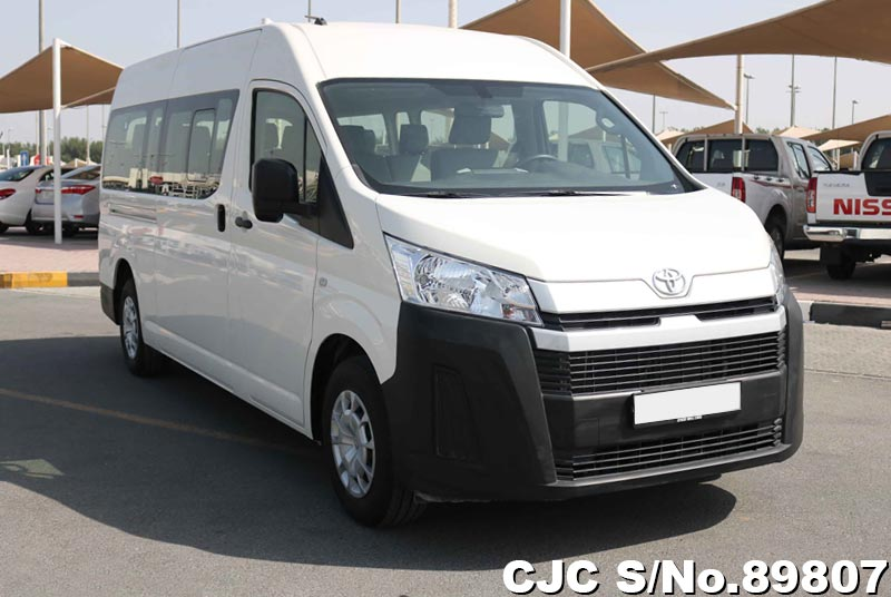 brand new 2020 left hand toyota hiace white for sale