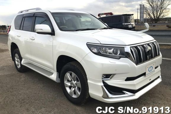 2017 Toyota / Land Cruiser Prado Stock No. 91913