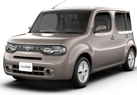 Brand New Nissan CUBE