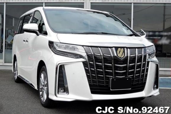 2020 Toyota / Alphard Stock No. 92467