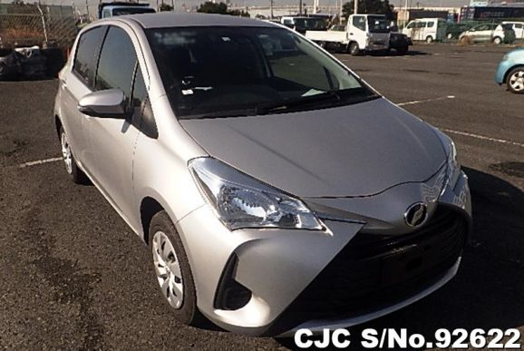 2018 Toyota / Vitz Stock No. 92622