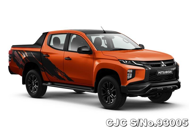 2021 Mitsubishi Triton Sunflare Orange For Sale Stock No 93005 Japanese Used Cars Exporter