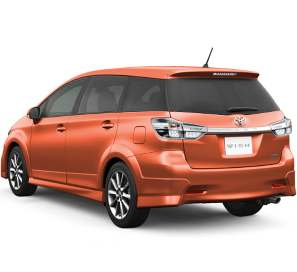 Brand New Toyota Wish For Sale