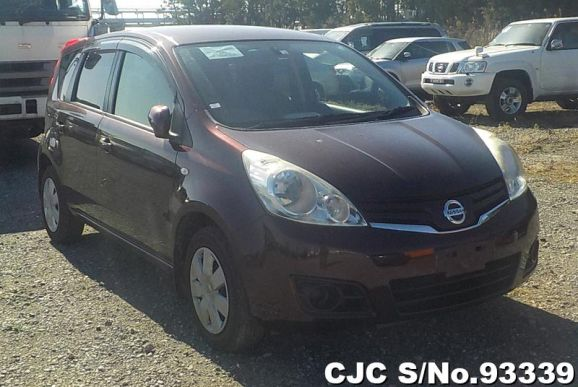 2012 Nissan / Note Stock No. 93339