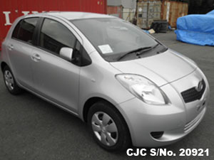 2007 Toyota / Vitz - Yaris Stock No. 20921