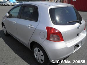 2007 Toyota / Vitz - Yaris Stock No. 20955