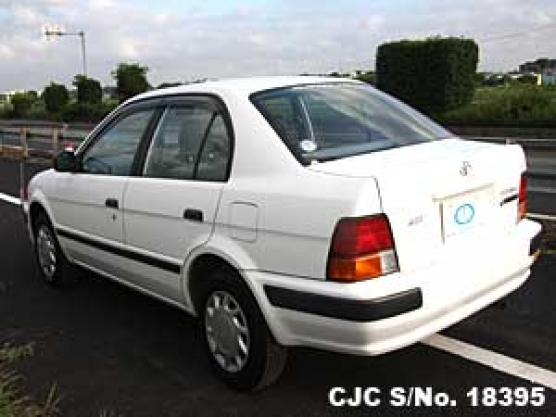 1995 toyota corsa tercel white for sale stock no 18395 japanese used cars exporter 1995 toyota corsa tercel white for