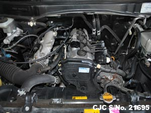 Japanese Used Toyota Liteace Noah Engine View