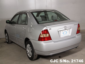 used 1999 Corolla rear View