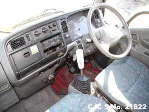 Japanese Used Mitsubishi Canter Steering view