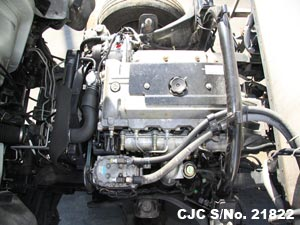 Japanese Used Mitsubishi Canter Engine View