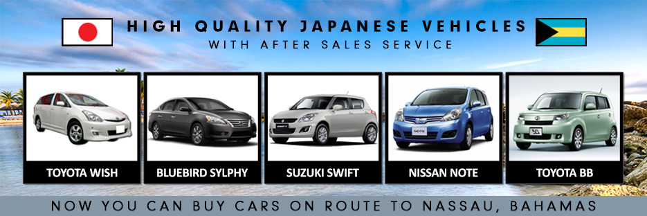 Used Japanese Cars Commercial Vehicles For Bahamas Car Junction