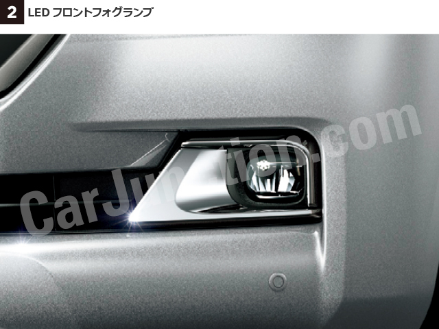 LED front fog lights