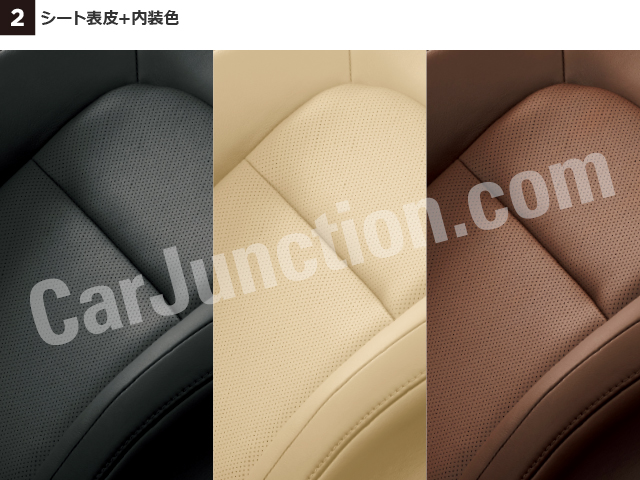 Seat upholstery + interior color