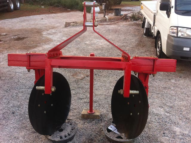 Tractor Implements: Border Disc for sale