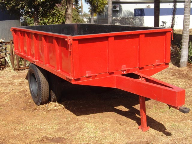 Tractor Implements Farm Trailer For Sale