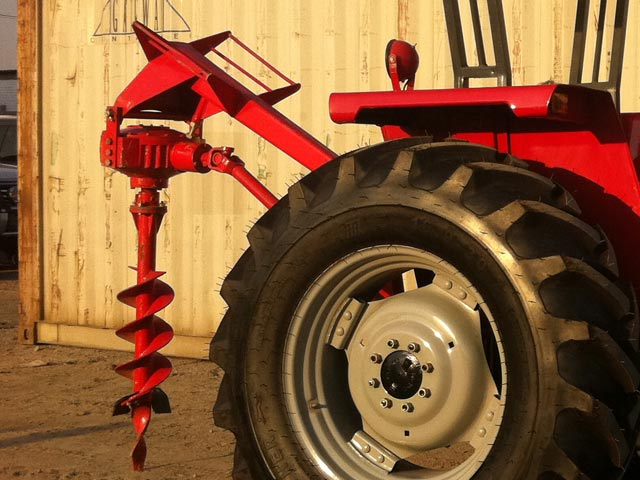 Tractor Implements Post Hole Digger For Sale
