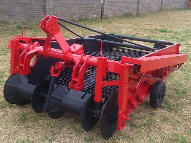 Tractor Implements Potato Digger Spinner For Sale