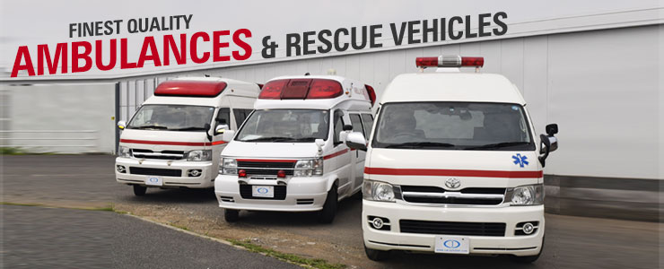 Amubulances & Rescue Vehicles