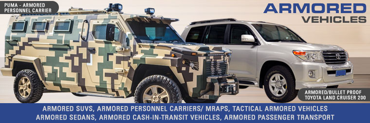 Armored Cars, Bullet Proof Vehicles, SUVs & Trucks for Sale at CAR