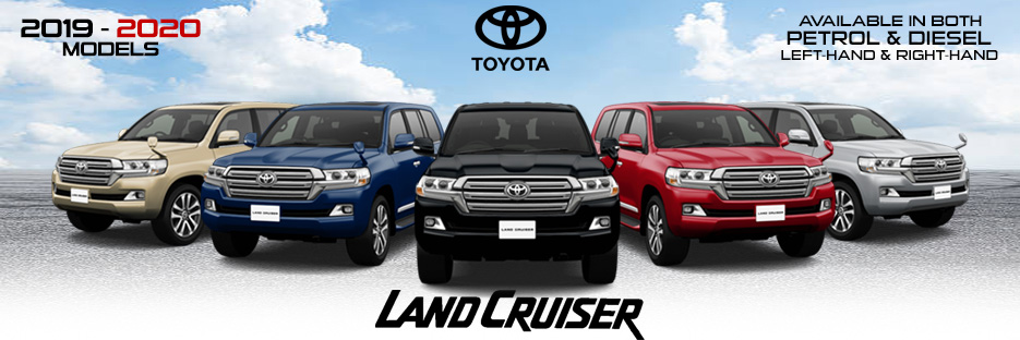 Brand New  Toyota Land Cruiser for sale - Booking Open