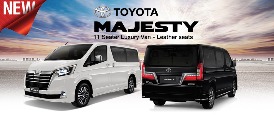 Brand New  Toyota Majesty for sale - Booking Open