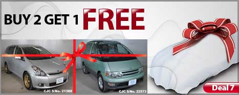 Japanese Used Car Special Deal by Car Junction