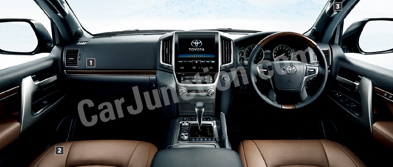 New TOYOTA LAND CRUISER Steering View