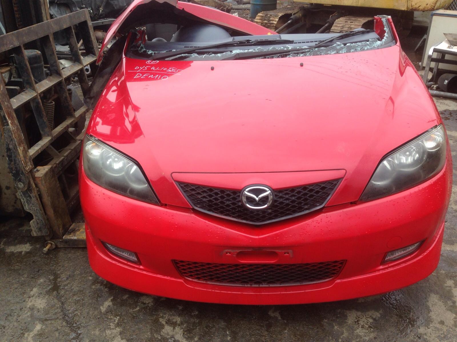 Mazda Demio ready for parts