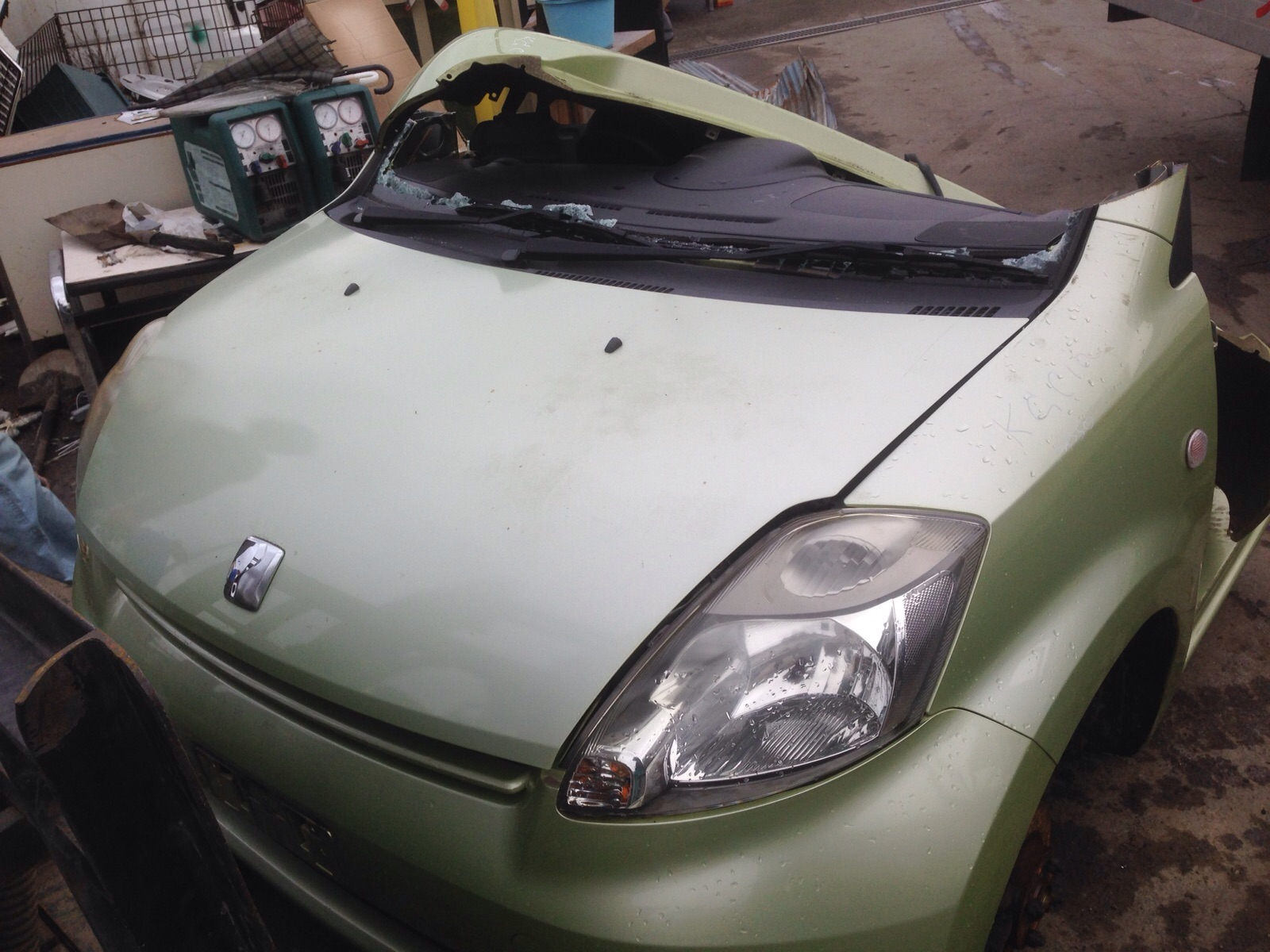 Toyota/Passo ready for parts
