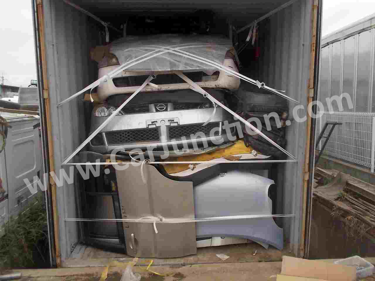 auto spare parts in 20 to 40 feet container