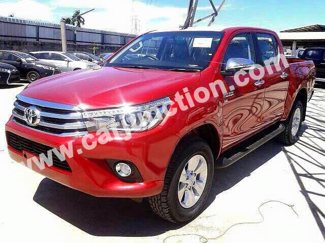 Toyota Hilux Revo in Wine Red