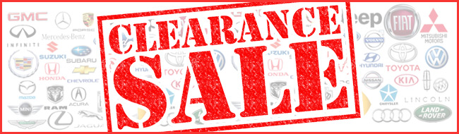 Japanese Used Cars Clearance Sale