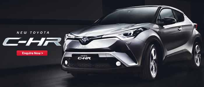 Toyota C-HR 2017