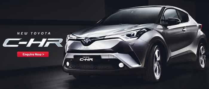 Brand New Toyota C-HR