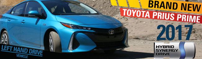 Left Hand Toyota Prius Hybrid for Sale